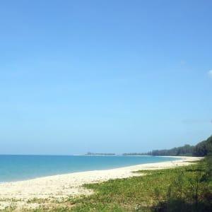 Bangsak Village in Khao Lak: Beach