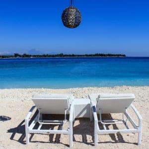 Mahamaya in Gili: Beach