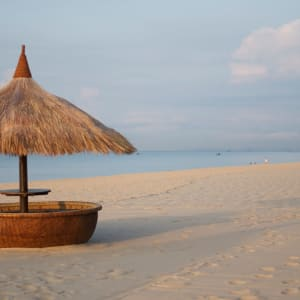 Cham Villas in Phan Thiet: Beach