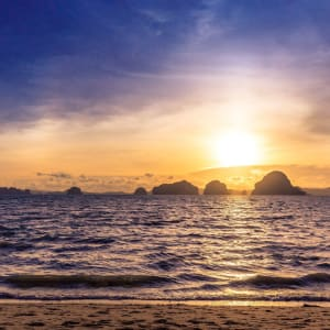Tup Kaek Sunset Beach Resort à Krabi: Beach