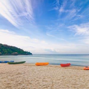 Bungaraya Island Resort à Kota Kinabalu:  Beach