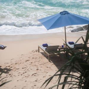 Kumu Beach Hotel à Balapitiya: Beach