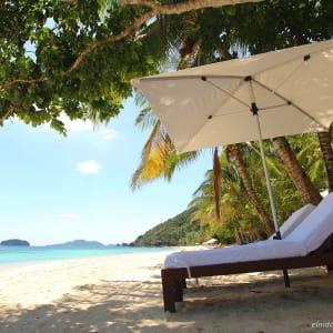 El Nido Resorts Pangulasian Island in Palawan: Beach Area