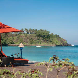 Sudamala Suites & Villas Lombok: Beach area