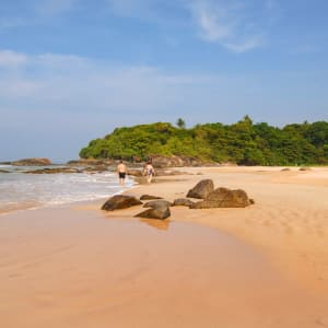 Lanka Princess in Beruwela: Beach Around the Hotel