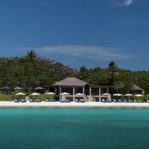 Amanpulo in Palawan: Beach Club