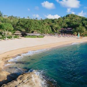 The Tongsai Bay in Ko Samui: beach view