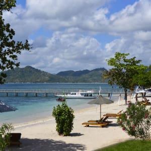 Cocotinos à Lombok: Cocotinos Lombok beach