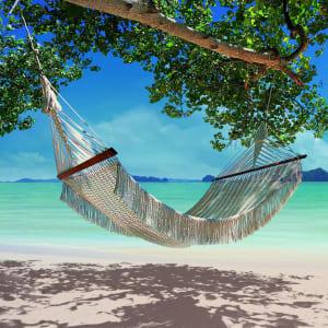 The Tubkaak Krabi Boutique Resort: Hammock on the beach