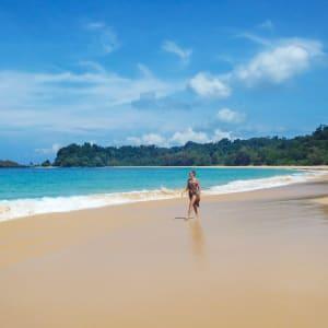 Wa Ale in Mergui Archipel: Honeymoon beach