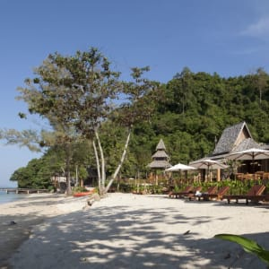 Santhiya Koh Yao Yai Resort & Spa à Ko Yao: Santhiya Beach
