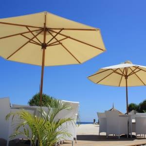 Mahamaya in Gili: Umbrellas