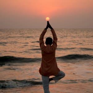 Neeleshwar Hermitage: Yoga at Beach