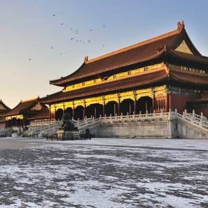 Avec le train du Tibet sur le toit du monde de Pékin: Beijing Forbidden City