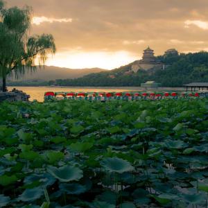 Avec le train du Tibet sur le toit du monde de Pékin: Beijing Summer Palace