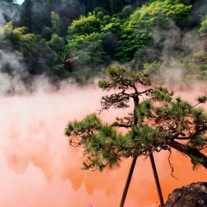 Le Japon sur de nouveaux chemins avec prolongation de Osaka: Beppu Blood Pond Hell