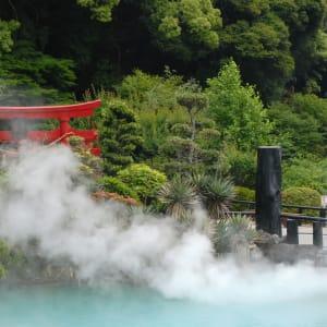 Circuit en groupe «Fuji» de Kyoto: Beppu steaming water pond
