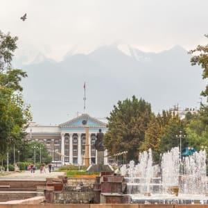 Sur les traces de Marco Polo le long de la route de la Soie de Pékin: Bishkek