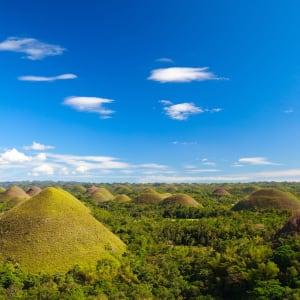 Individuelles Inselhüpfen auf den Philippinen ab Manila: Bohol Chocolate Hills