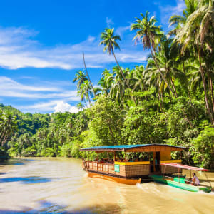 Individuelles Inselhüpfen auf den Philippinen ab Manila: Bohol Loboc River