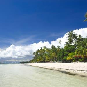 D'île en île individuellement aux Philippines de Manille: Bohol Panglao Alona Beach