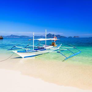 D'île en île individuellement aux Philippines de Manille: Boracay
