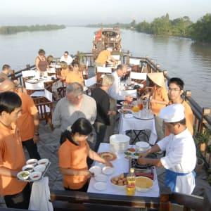 Mekong Delta Fluss-Kreuzfahrten mit «Mekong Eyes» ab Saigon: Breakfast