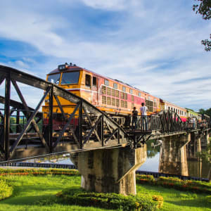 River Kwai Soft Adventure & Elefanten Erlebnis ab Bangkok: Bridge over River Kwai
