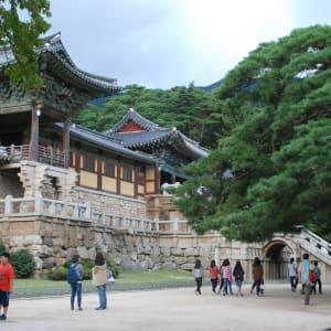 Découverte active de la Corée du Sud de Séoul: Bulguksa Temple 06 (Gyeongju)