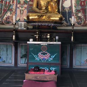 Corée du Sud compacte de Séoul: Bulguksa Temple Buddha