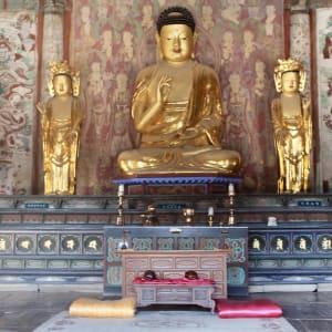 Vielfältiges Südkorea ab Seoul: Bulguksa Temple Buddha 2
