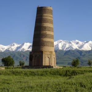 Sur les traces de Marco Polo le long de la route de la Soie de Pékin: Burana tower