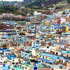 Découverte active de la Corée du Sud de Séoul: Busan Gamcheon Culture Village