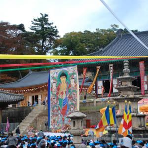 Grand circuit en voiture de location en Corée du sud de Séoul: Busan Gayasan National Park Haeinsa temple