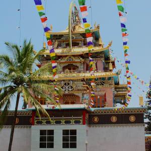 Le sud diversifié de l'Inde de Kochi: Bylekuppe: Tibetan Settlement