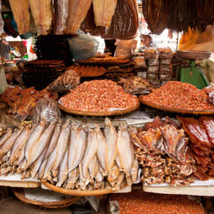Khmer Kochkurs in Siem Reap: Cambodia Market