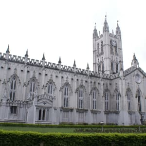 Stadttour Kolkata: CCU St. Paul's Cathedral - G