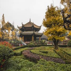 China aktiv erleben ab Peking: Chengdu Qingyang monastery scenic spot