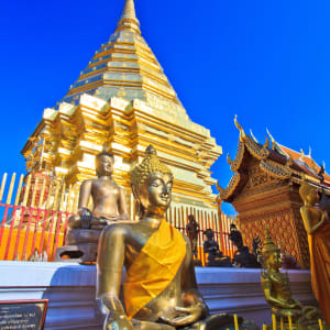 Les hauts lieux de la Thaïlande de Bangkok: Chiang Mai Doi Suthep