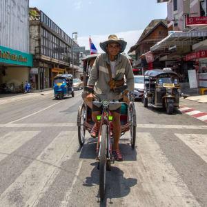 Le Triangle d'Or de Chiang Mai: Chiang Mai Riksha Driver