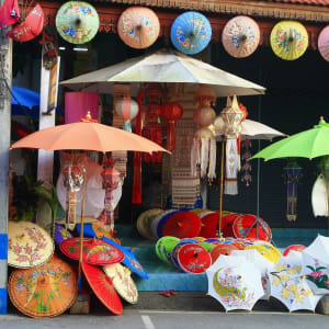 Le Siam royal de Bangkok: Chiang Mai Umbrella Shop
