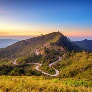 Mietwagenrundreise Goldenes Dreieck ab Chiang Mai: Chiang Rai - Doi Pha Tung