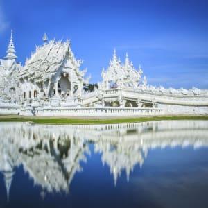 Sur les traces de l'opium de Chiang Mai: Chiang Rai Wat Rong Khun