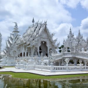 Les hauts lieux de la Thaïlande de Bangkok: Chiang Rai Wat Rong Khun