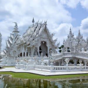 Thailand für Geniesser ab Bangkok: Chiang Rai Wat Rong Khun