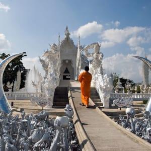 Le Triangle d'Or de Chiang Mai: Chiang Rai: Wat Rong Khun