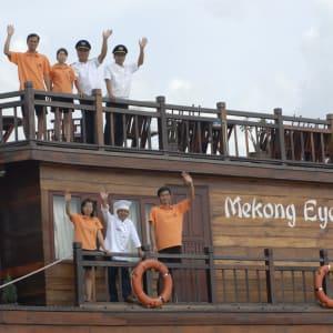 Mekong Delta Fluss-Kreuzfahrten mit «Mekong Eyes» ab Saigon: Crew