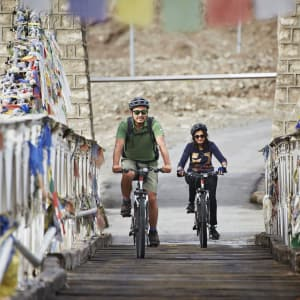 Le Ladakh luxueux de Leh: cycle-ride
