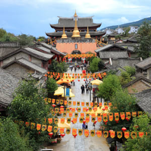 Les hauts lieux du Yunnan de Kunming: Dali Rebuild Song dynasty town