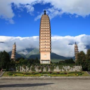 Circuit spectaculaire du Yunnan au Tibet de Kunming: Dali The Three Pagodas